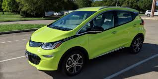 First look at 2019 Chevy Bolt EV with new 'Shock' color - tell us ...