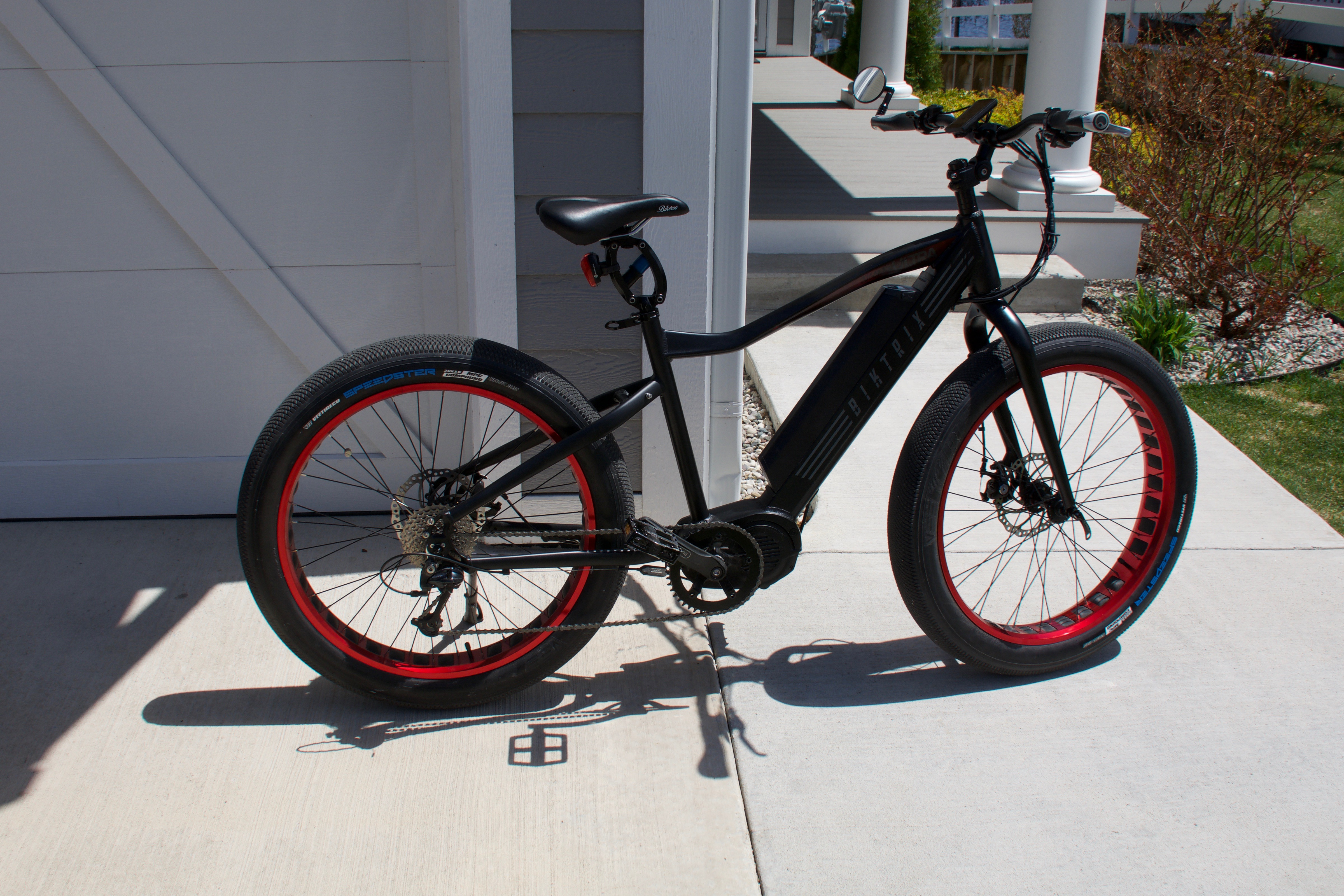 Front fork and tire modification on 2018 Rad Rover- Feasible mod for