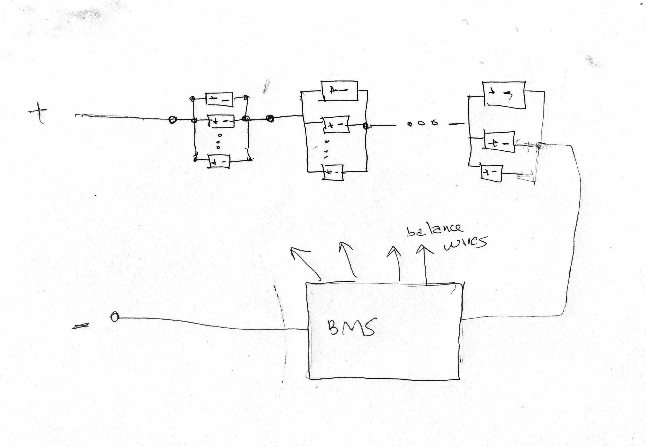 18650 Battery Wiring Diagram Basic Series Parallel Connection Spot Welding Circuit That Shows 24 Batteries Wired Up To Make An 8 Volt Im Not Sure You Have This Figured Out Yet