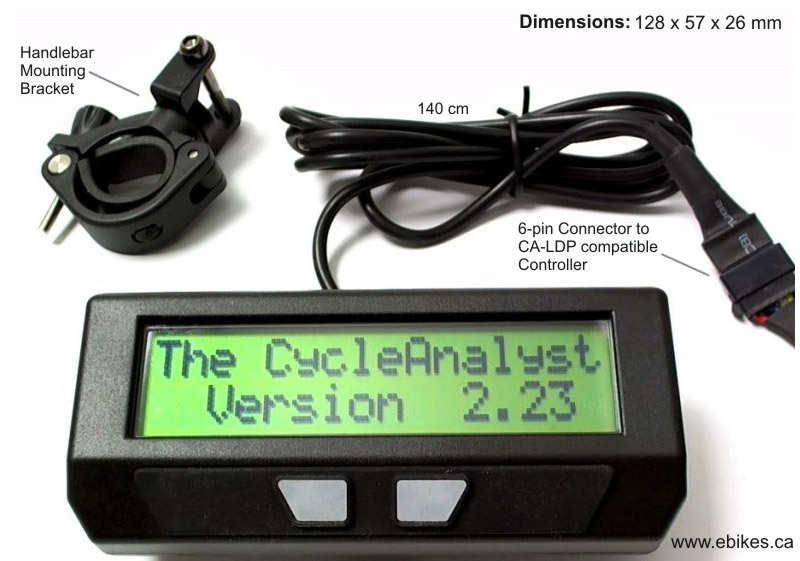 Cycle Analyst Overview Electric Bike Forum Q A Help Reviews