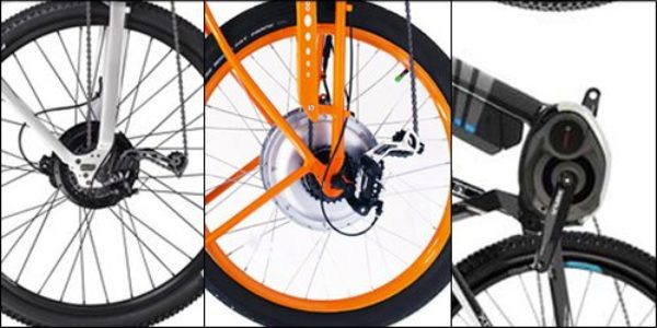 what's the difference between electric bike motors? electric bike