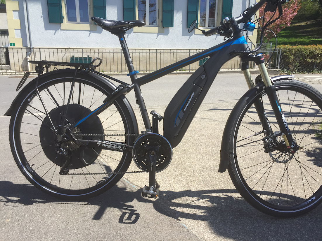 I briefly demoed the wheeler eagle speed 2016 so i thought i would plop in a little review the first impression you get when riding the bike is that the