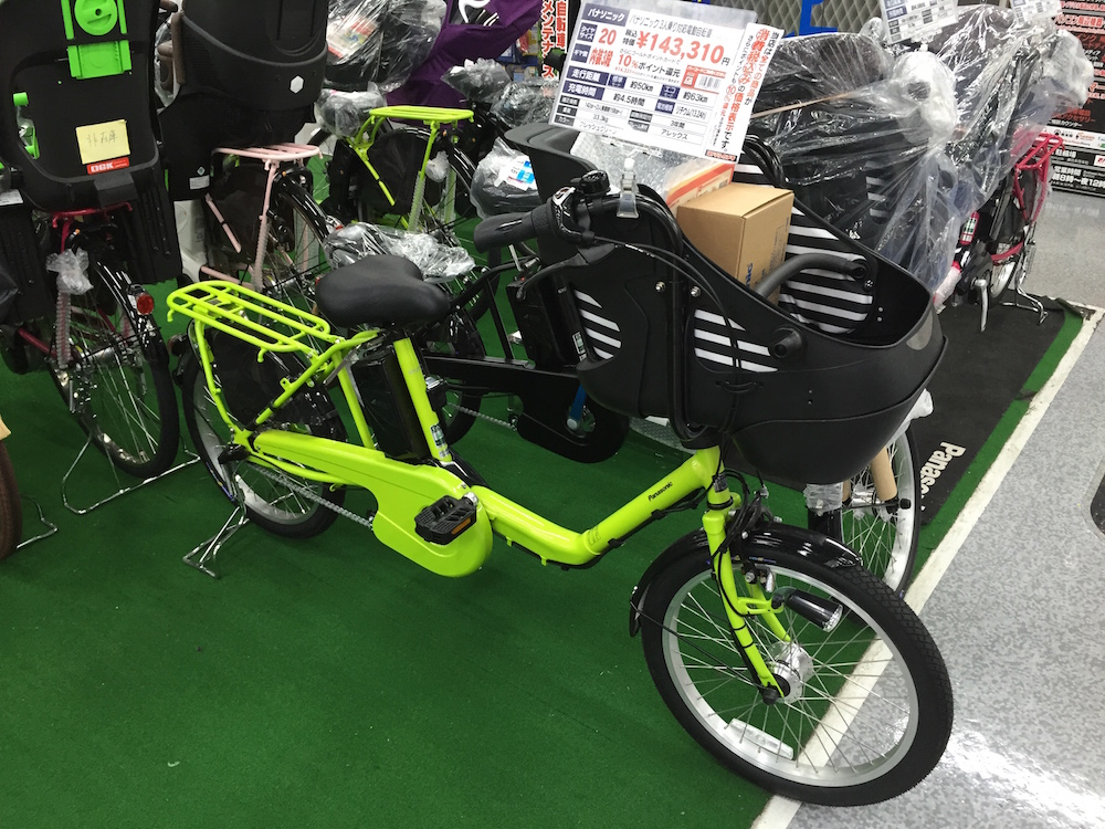 "Japanese ""family"" ebike 