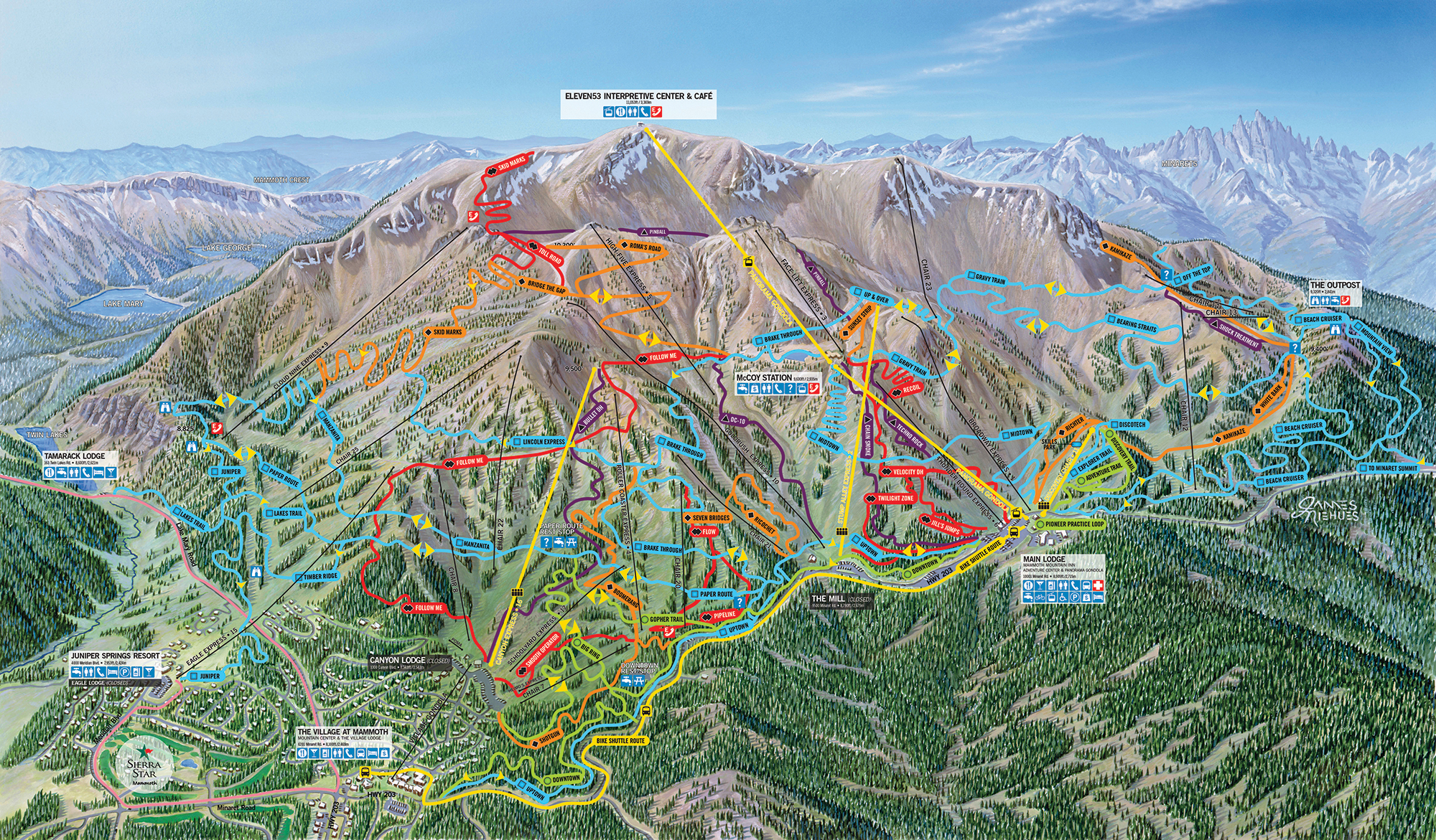 Mammoth Mountain Becomes First US Resort to Allow Electric ... on southern california ski resorts map, tahoe ski resorts map, mammoth ski area map, mammoth hot springs map, mammoth condo map, mt. shasta ski map, mammoth city map, mammoth ca map, mammoth fishing map, snowcreek resort map, mammoth ski trail map, mammoth illinois map, vermont ski resorts map, mammoth lodging map, mammoth lodge map, vail ski trail map, mammoth mtn map, mammoth on a map, ski colorado map, mammoth mountain map,