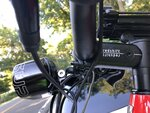 RedShift ShockStop Stem on Super Commuter +8S w:Ritched Supernova M99 Mount.JPG