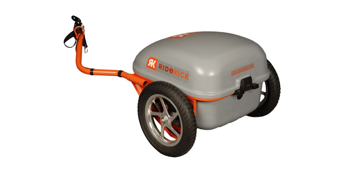 2013 Ridekick Electric Bike Trailer Review 1