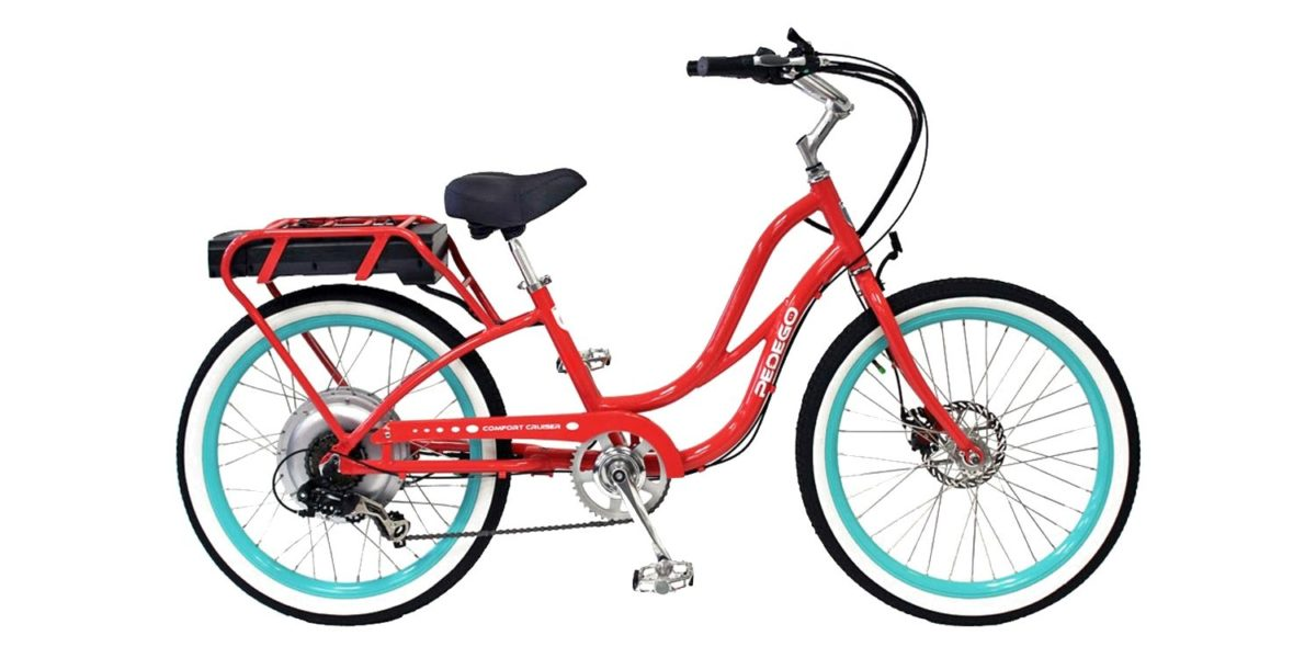 Pedego Step Thru Comfort Cruiser Electric Bike Review 1