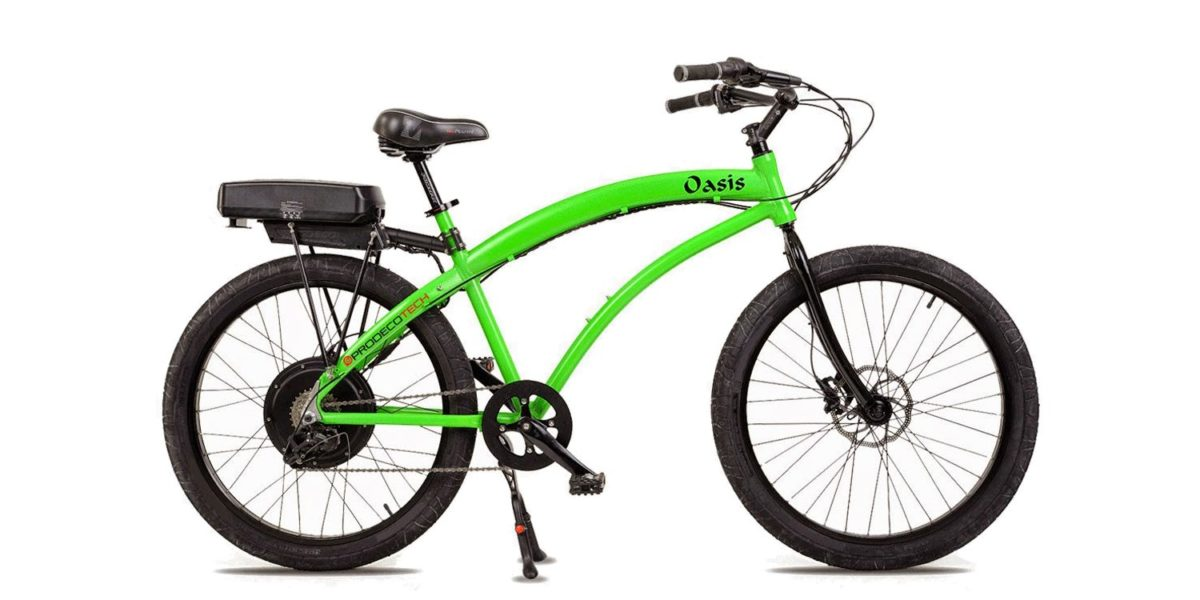 Prodecotech Oasis Electric Bike Review 1