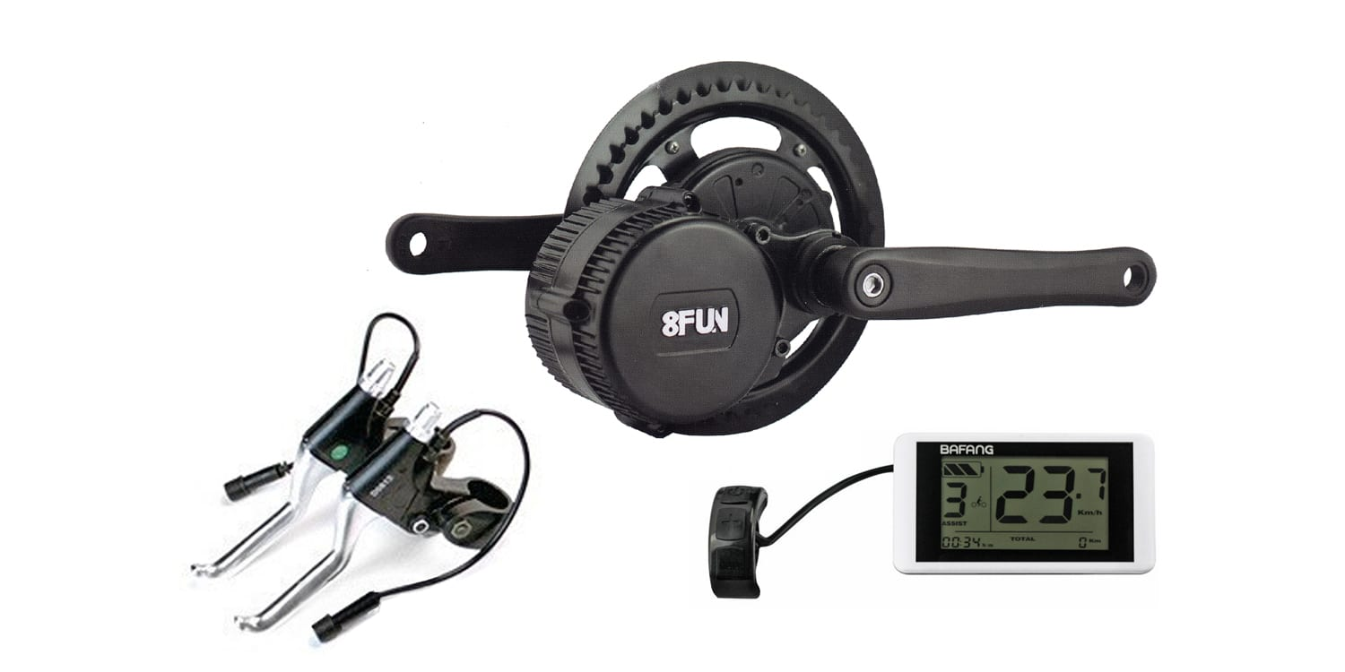 8fun bbs02 750w mid drive kit review prices specs for Electric bike motor reviews