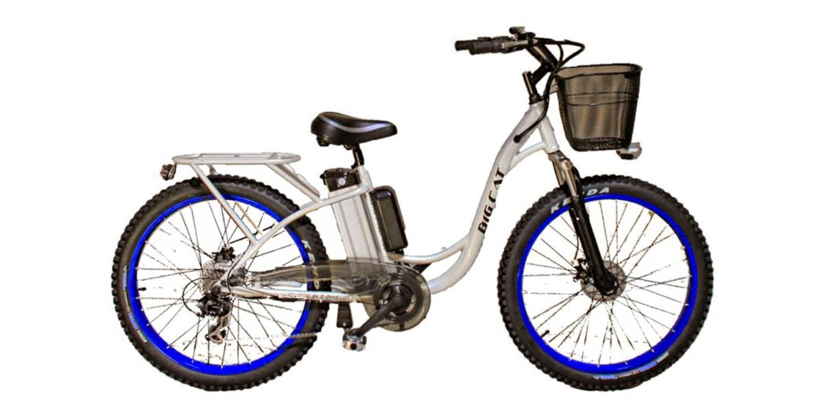 Big Cat Long Beach Cruiser Electric Bike Review
