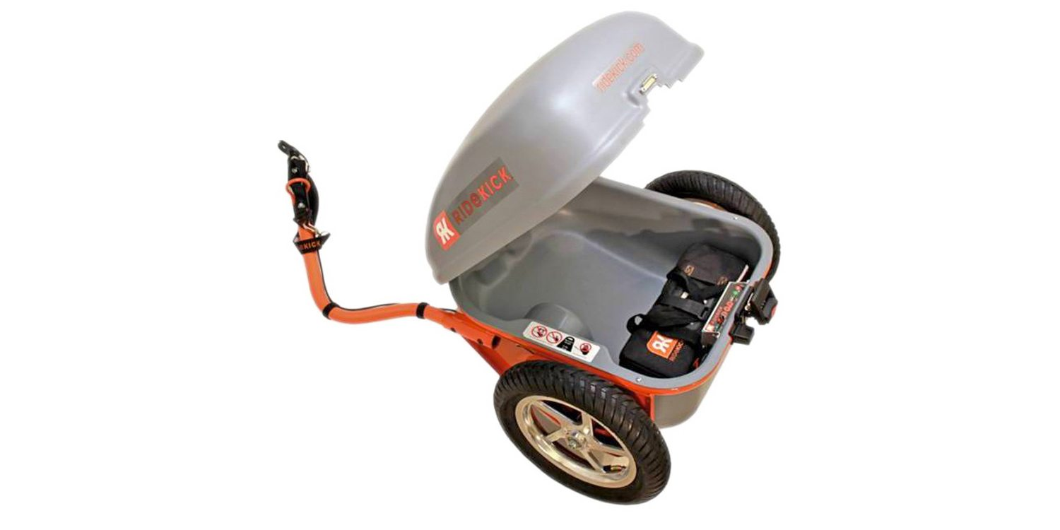 Ridekick Power Trailer Review Prices Specs Videos Photos Wire Leads To Provide Additional Functions Such As Powering 2015 Electric Bike