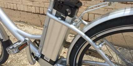 Ez Pedaler T500 Removable 36 Volt 12 Amp Hour Lithium Ion Battery