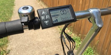 Ez Pedaler X350 Flick Bell Backlit Lcd Display