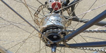Faraday Porteur S Five Speed Sturmey Archer Internally Geared Hub