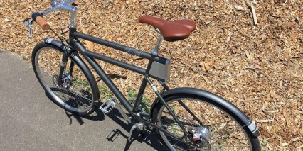 Faraday Porteur S Matching Steel Fenders