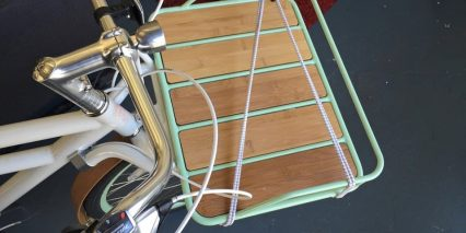Faraday Porteur S Optional Front Carry Rack