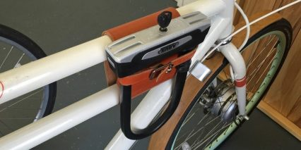 Faraday Porteur S Optional Leather Pouch Lock Holder
