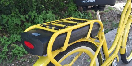 Pedego Step Thru Comfort Cruiser Ii Removable Samsung Battery Pack