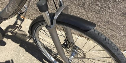 Solex Solexity 400 Basic Suspension Fork Color Matched