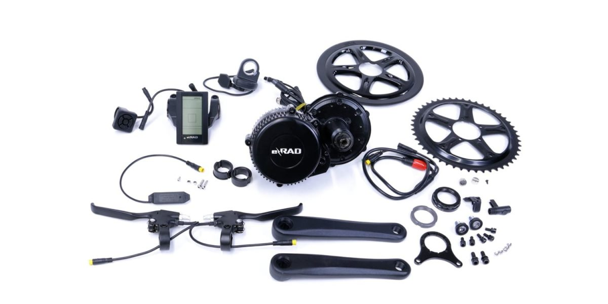 E Rad 500 Watt Mid Drive Conversion Kit Review 1