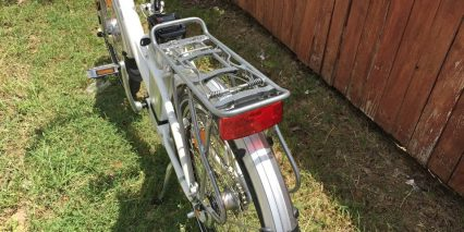Ez Pedaler T350 Standard Carry Rack Battery Led Light