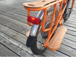 Rad Power Bikes Radwagon Independent Rear Light And Fender