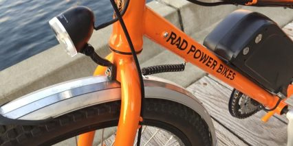 Rad Power Bikes Radwagon Integrated Headlight And Deflopilator