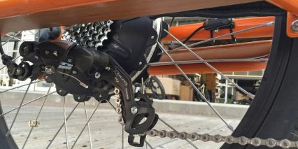 Rad Power Bikes Radwagon Shimano Tourney Derailleur
