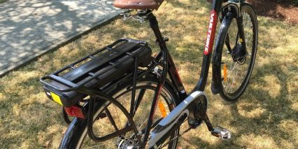 Voltbike Elegant Rear Rack With Battery