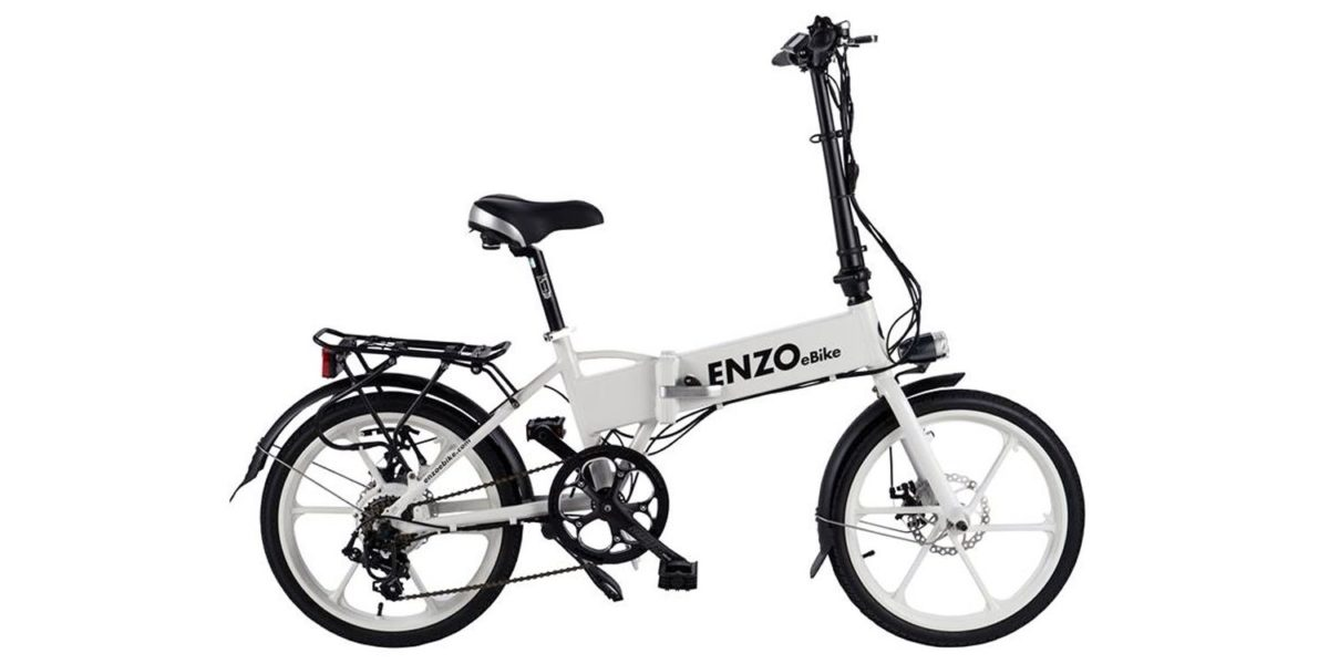2016 Enzo Ebikes Folding Electric Bike Review