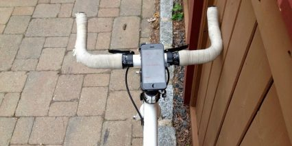 Superpedestrian Copenhagen Wheel Phone Mount Handlebar