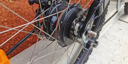 2014 Evelo Aries Nuvinci Continuously Variable Transmission