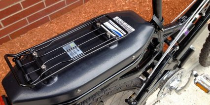2014 Evelo Aries Rear Battery Pack Rack