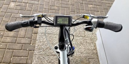 2014 Evelo Aurora Display Shifter Throttle
