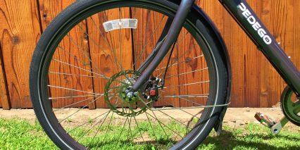 2015 Pedego City Commuter Full Length Aluminum Fenders Mudflaps