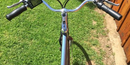 2015 Pedego City Commuter Gull Wing Handlebar And Lcd Display