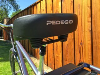 2015 Pedego City Commuter Oversized Padded Saddle Bumpeers Suspension Post