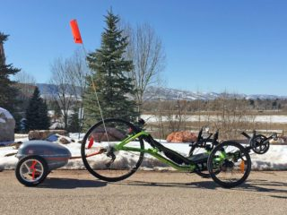 2015 Ridekick Electric Bike Trailer