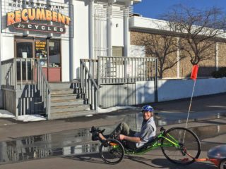 2015 Ridekick Power Trailer At Rocky Mountain Recumbent In Fort Collins Co