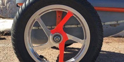 2015 Ridekick Power Trailer Cast Aluminum Rims