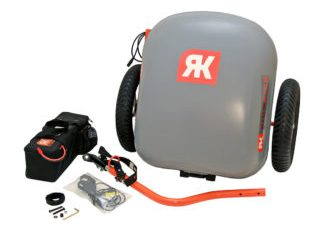 2015 Ridekick Power Trailer Disassembled