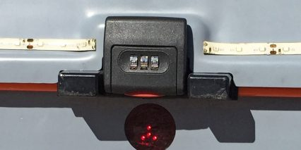 2015 Ridekick Power Trailer Integrated Led Light