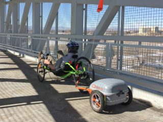 2015 Ridekick Power Trailer Recumbent Ebike