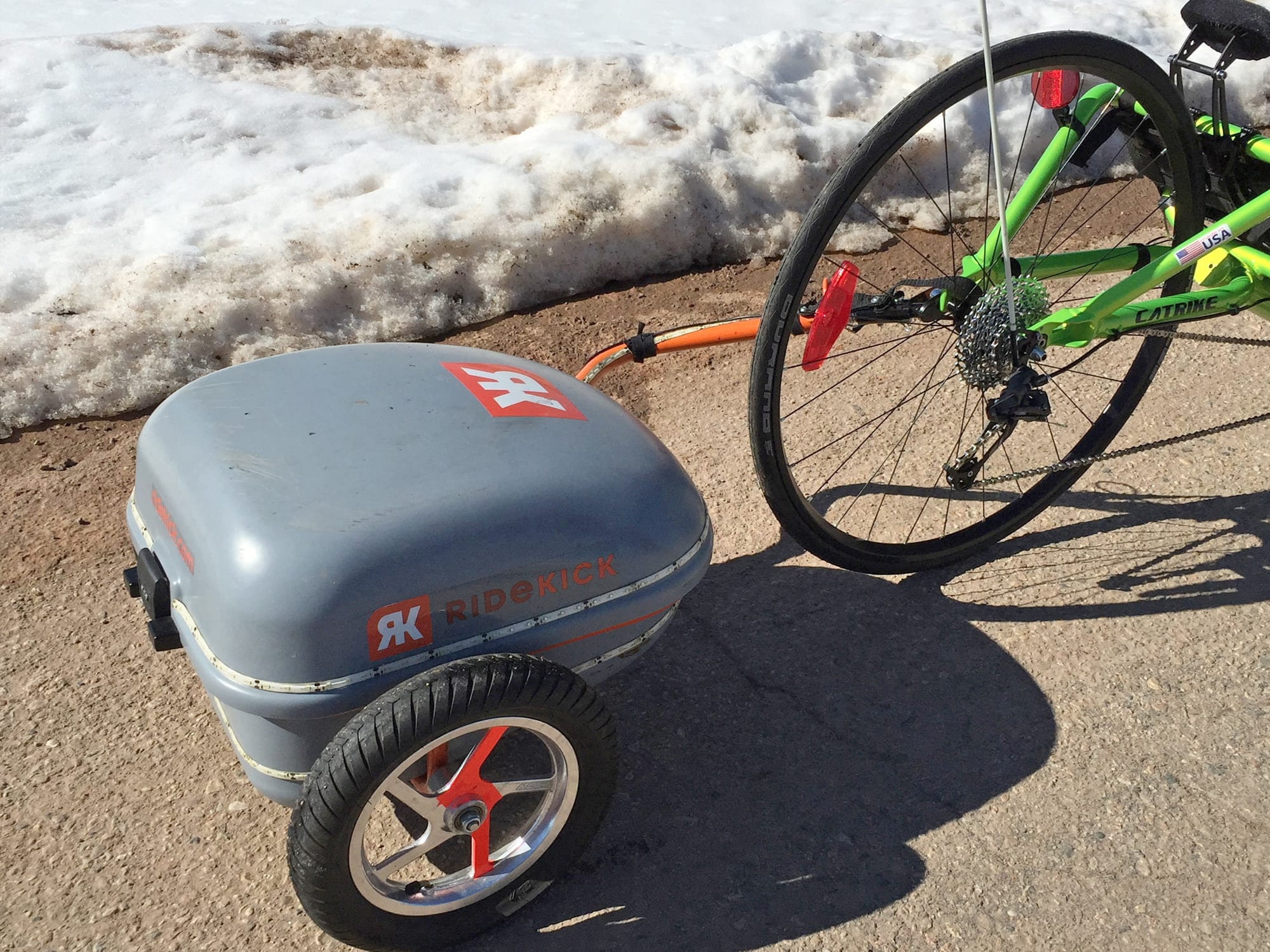 Ridekick Power Trailer Review Prices Specs Videos Photos