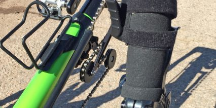 2015 Ridekick Power Trailer Velcro Throttle Attachment