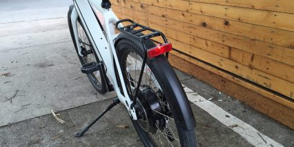 2015 Stromer St2 Integrated Fenders Rack Led Rear Light