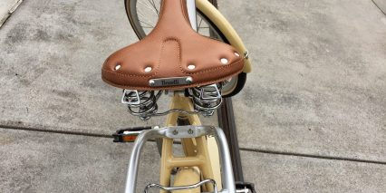 Benelli Classica Guyes Leather Spring Saddle