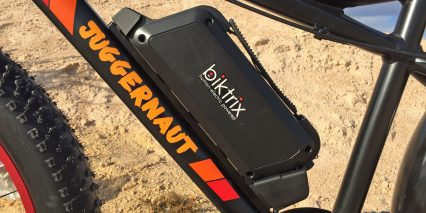 Biktrix Juggernaut 48 Volt Downtube Battery Pack