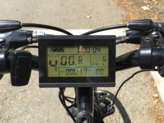 Cutler Cycles Fusion Lcd Display Panel Closeup