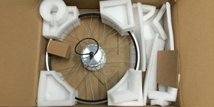 Dillenger 350w Electric Bike Kit Unboxing